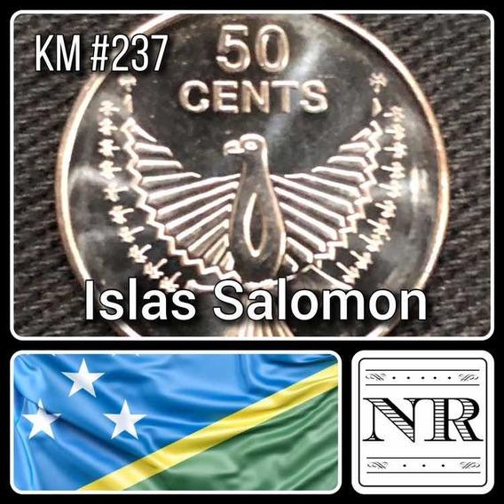 Islas Salomon - 50 Cents 2012 - Km # 237 - Aguila
