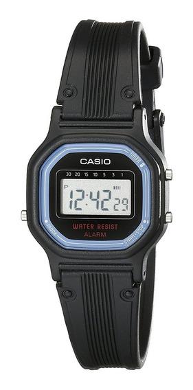 Relogio Casio La11wb-1 Retrô Vintage Alarm Crono Wr Nf La11
