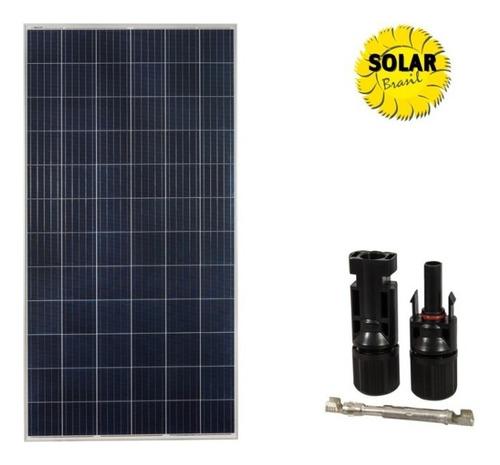 Imagem 1 de 6 de Painel Placa Solar Celula Fotovoltaica 340w Com Conector
