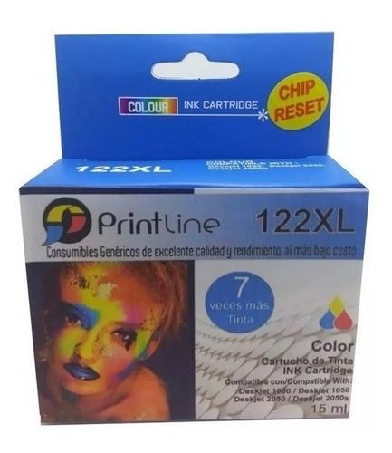 Cartucho Generico Hp 122 Xl Color Con Garantía 122