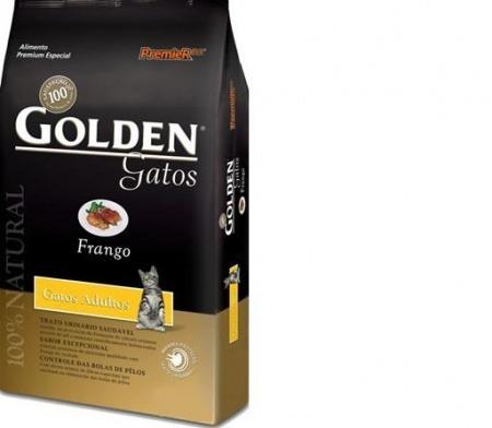 Golden Gatos Adulto Frango 1kg - Premier