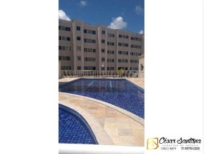 Apartamento 2/4 Reformado - Centro - Lauro De Freitas - Ap00544 - 33410177