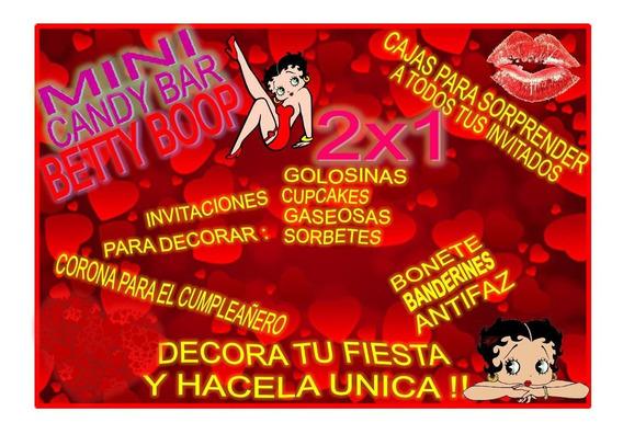 Kit Imprimible Mini Candy Betty Boop! 2x1 Imperdible