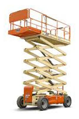 Alquiler De Plataformas De Elevación Tijera 9 Mts De Altura