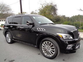 Infiniti Qx80 5.6l Perfection 8 Pasajeros At - Premiumcars