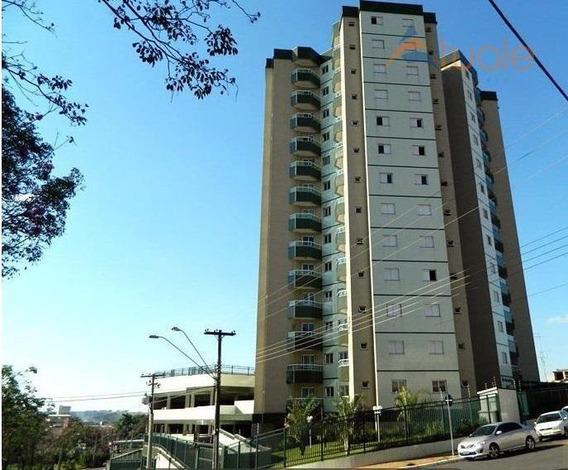 Apartamento Com 1 Dormitório Para Alugar, 43 M² Por R$ 800,00/mês - Jardim Santa Rosa - Nova Odessa/sp - Ap3494