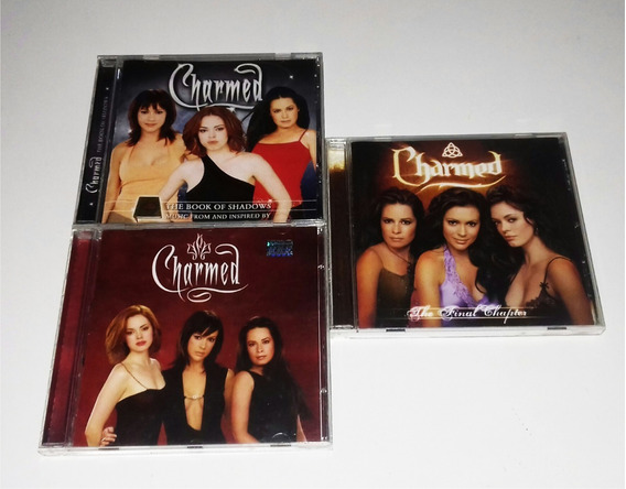 Lote 3 Trilhas Sonoras Originais Do Seriado Charmed
