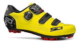 Sapatilha Sidi Mtb Trace 2 Amarela Fluo 2020