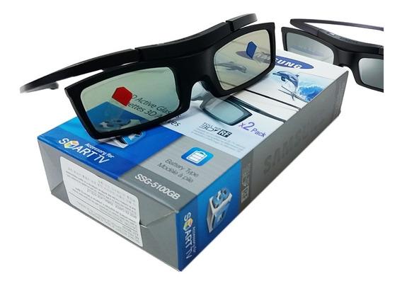 Óculos 3d Samsung Ativo Ssg 5100gb 2 Uni C/bateria Novo Nf