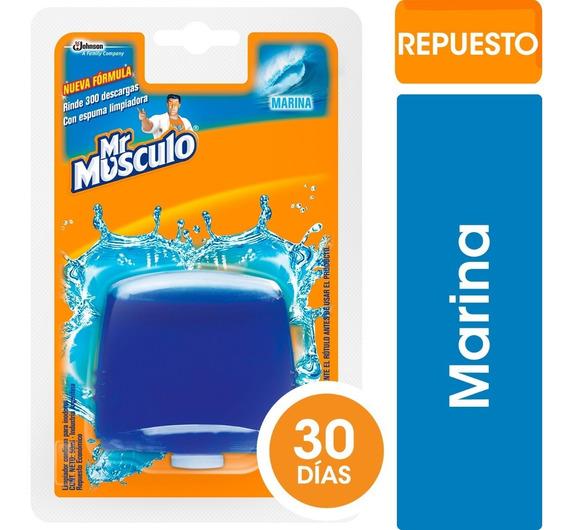 Mr Músculo Canasta Líquida Marina X50ml - 3 Repuestos