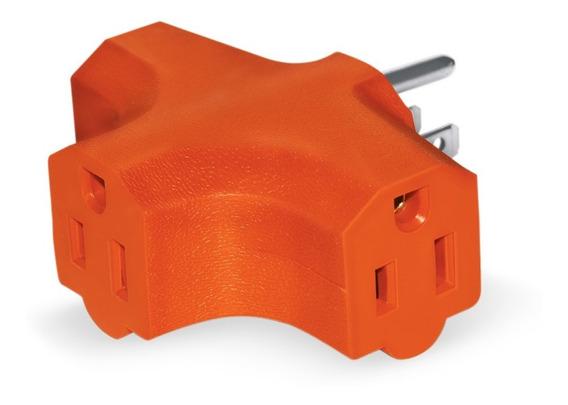 Sanelec 1500 Adaptador Tipo T, 3 Contactos