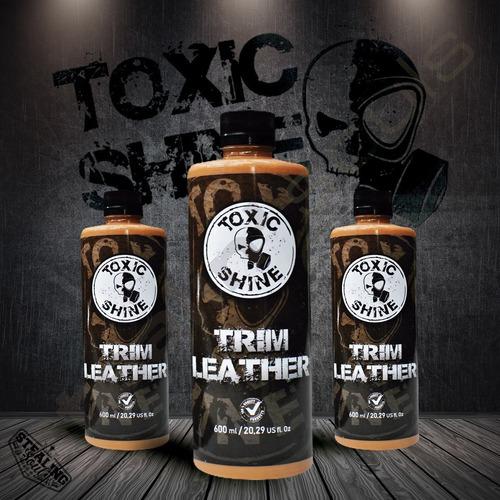Imagen 1 de 6 de Toxic Shine | Trim Leather | Acondicionador De Cuero | 600cc