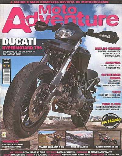 Motoadventure.115- Honda Cbr1000 Bobber Mirage650 Ducati796
