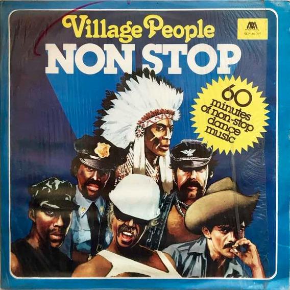 Lp Village People - Non Stop 1985
