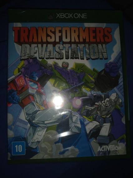 Transformers Devastation Xbox One Midia Física Lacrado
