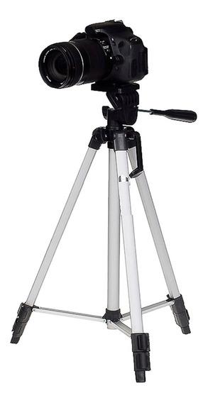 Tripé 1,20m P/ Nikon 1 D40 D50 D60 D70 D80 D90 D3000 D3100