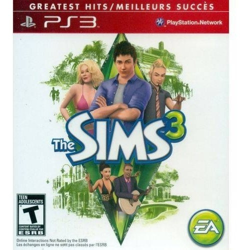 The Sims 3 Ps3 Mídia Física Lacrado