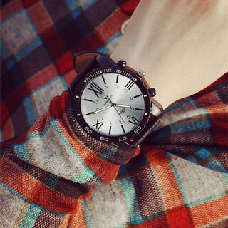 Reloj Hombre- Silicona - Negro - Analogico Xl -