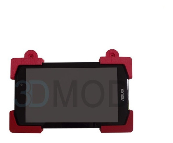 Suporte De Parede iPad Tablet Com Travas Moldura Nf