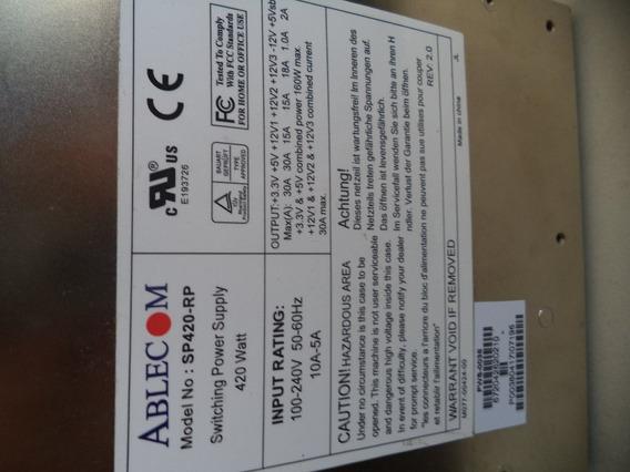 Fonte Ablecom Sp420-rp 420 Watt - Para Servidor