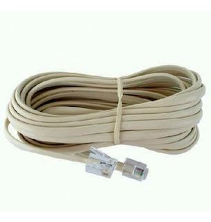 Cable Telefónico Rj11 Armado 10mts