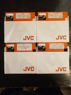 Lote X 20 - Diskette Jvc Md-2hd Naranja - Usados