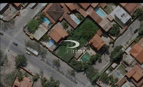 Terreno À Venda, 640 M² Por R$ 952.000,00 - Maralegre - Niterói/rj - Te0153