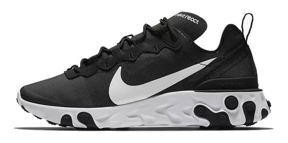 Tenis Nike React Element 55 Mujer Correr Gym