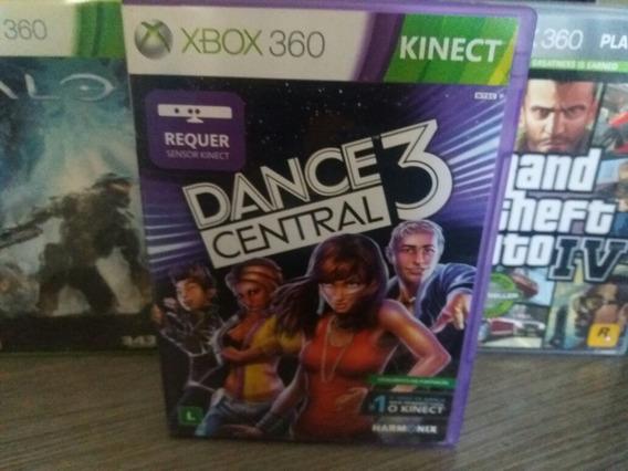 Jogo Para Kinect Dance Central 3 Xbox 360 Original Mídia