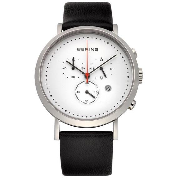 Reloj Bering Classic Acero Piel Genuina Hombre 10540-404