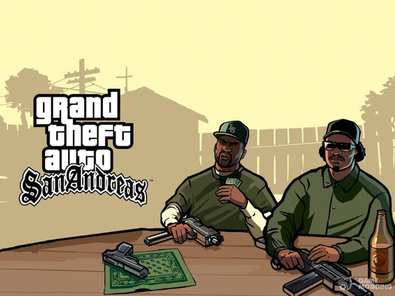 Gta San Andreas Pra Ps3,pc, Android Media Digital
