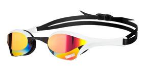 Óculos De Natação Cobra Ultra Mirror Arena / Branco-vermelho