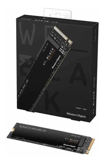 Disco Wd Ssd M2 Pcie Nvme Black 250 Gb Sn750 Mallweb
