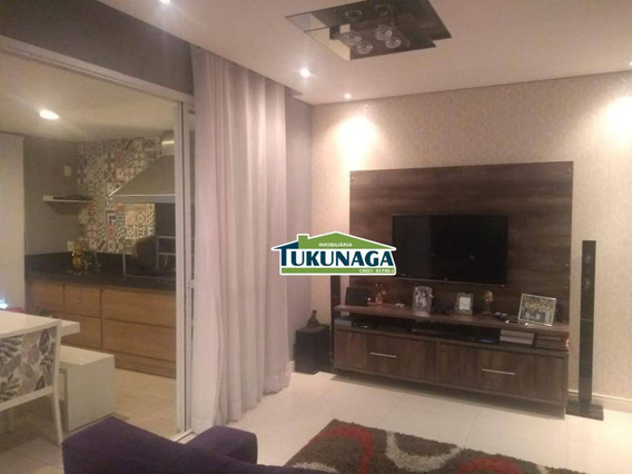 Apartamento Com 3 Dormitórios Para Alugar, 88 M² Por R$ 2.247,00/mês - Vila Galvão - Guarulhos/sp - Ap2502