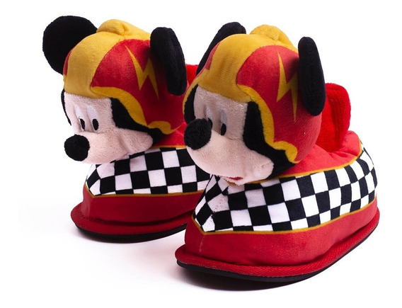 Pantuflas Addnice Mickey Racers-a8p2m3ss01b- Open Sports