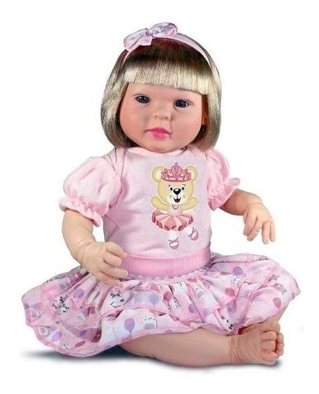 Boneca Diandra Sidnyl Tipo Reborn Chora E Balbucia