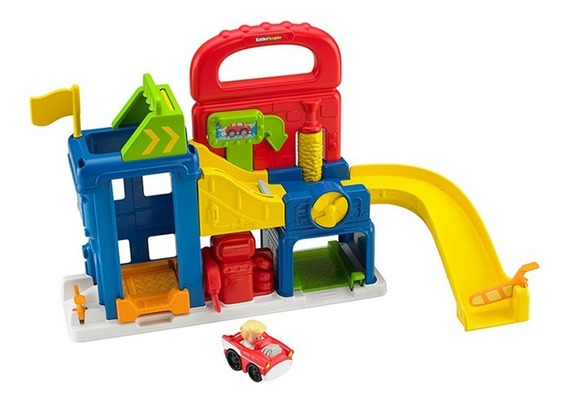 Little People Garage - Fisher Price - Little People Bft92