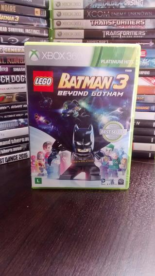 Lego Batman 3 Byond Gotham Xbox 360 Frete 12 Portugues
