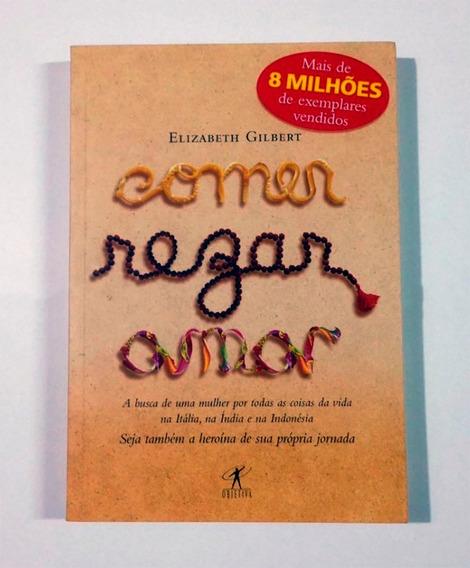 Livro Comer, Rezar, Amar - Elizabeth Gilbert