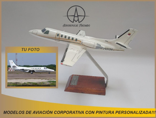 Imagen 1 de 9 de Avión A Escala De Aviación General Con Pintura Personalizada