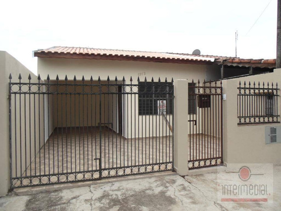 Casa Com 2 Dormitórios À Venda, 96 M² Por R$ 195.000,00 - Jardim Santa Cruz - Boituva/sp - Ca1555