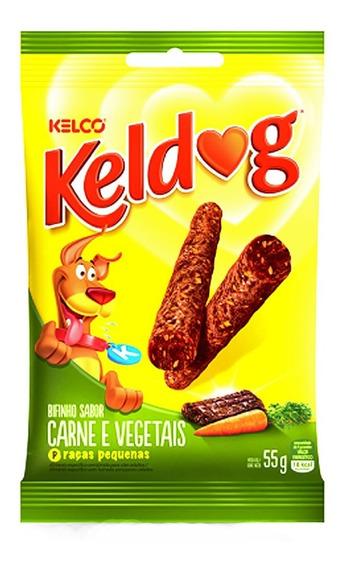 Bifinho Kelco Keldog Raças Pequenas Carne E Vegetais - 55 G