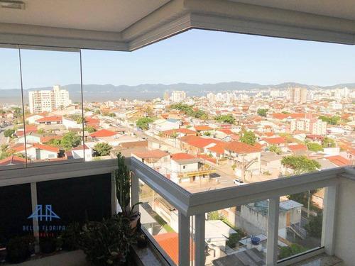 Apartamento Com 3 Dormitórios À Venda, 80 M² Por R$ 464.800,00 - Jardim Cidade De Florianópolis - São José/sc - Ap3412