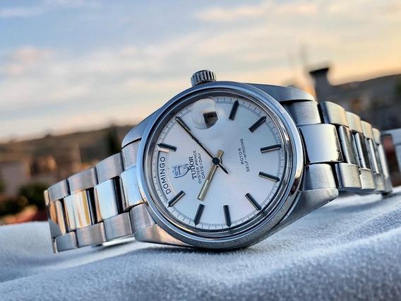 Reloj Rolex Tudor Daydate Automatic 38mm Jumbo Estuche Origi