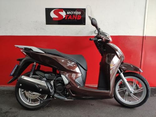 Honda Sh 300 I 300i Abs 2018 Marrom