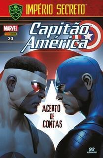 Hq Capitão América Nº 20 Out/2018 - Acerto De Contas