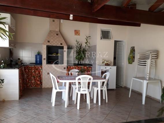 Casa Mais Salão Comercial Para Venda Em Brodowski No Joao Luiz De Vicente, 2 Dormitorios, Salao, Varanda Gourmet Com Churrasqueira Em 200 M2 De Area - Ca00752 - 33892854