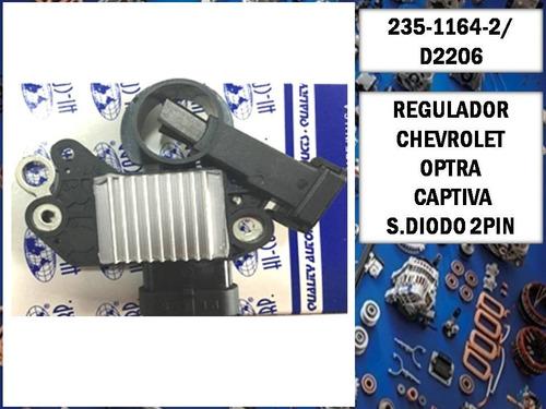 Regulador Chevrolet Optra Captiva 2pin Aveo Hicorp D2206