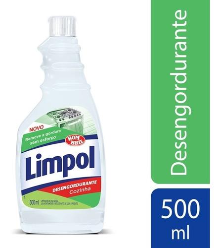 Desengordurante Limpol Cozinha Refil 500ml