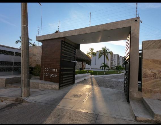Venta Hermoso Departamento Colinas San José Manzanillo Col.